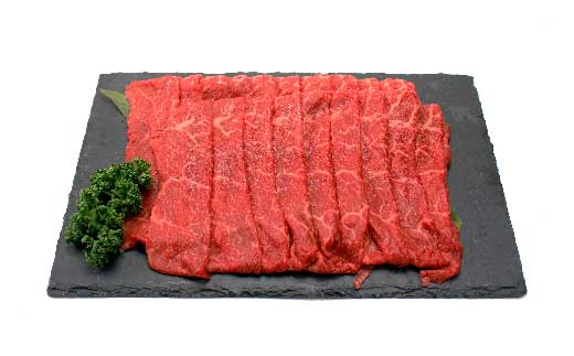 「いしかわ牛」または「福島牛」モモ肉しゃぶしゃぶ用 400g×1