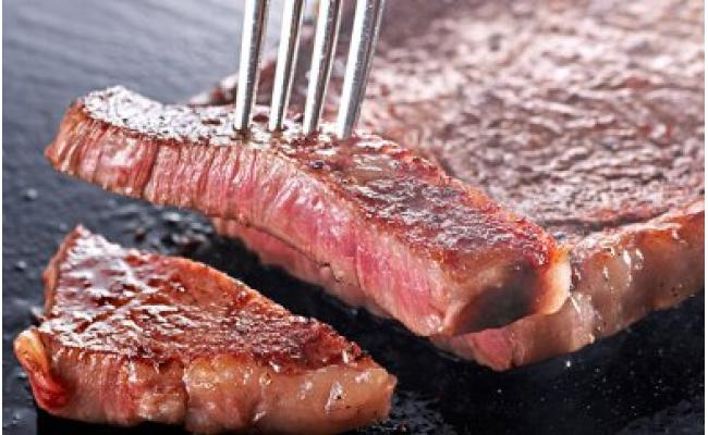 「いしかわ牛」または「福島牛」和牛ロース肉約250gステーキ用×2